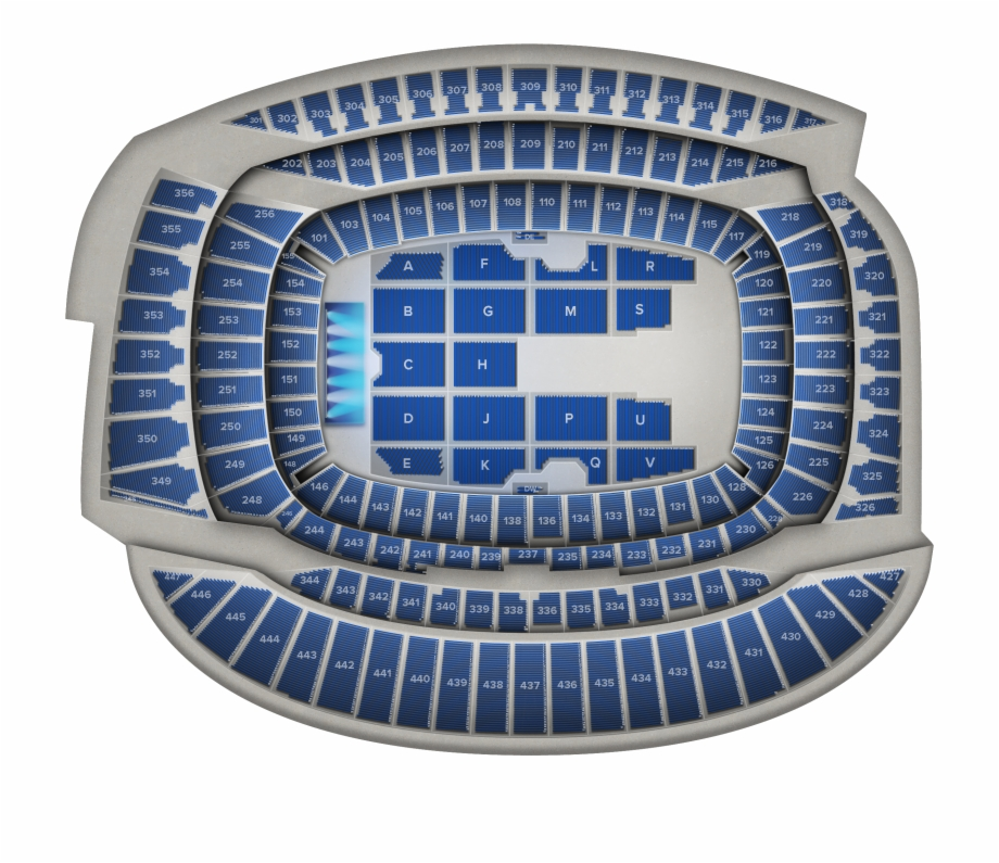 Soldier field clipart jpg Seat Map - - Soldier Field 226 Concert Free PNG Images ... jpg
