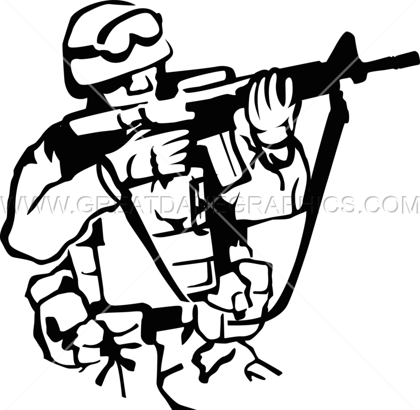 Soldier in someone house clipart freeuse library American Soldier Drawing at GetDrawings.com | Free for personal use ... freeuse library