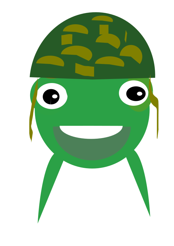Soldier turtle clipart clip art Free Clipart: Funny soldier | mohamed elsayed clip art