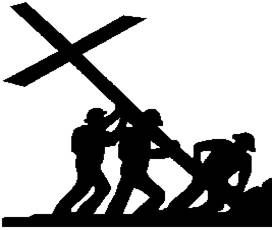 Soldiers and jesus cross black and white clipart vector black and white Soldier of Christ Jesus | Then Sings My Soul | Christian ... vector black and white