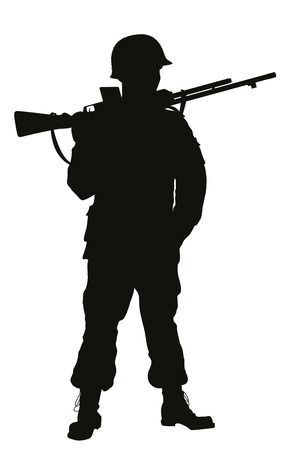 Soldiers clipart » Clipart Portal clip black and white stock