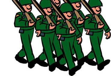 An army of soldiers clipart 7 » Clipart Portal jpg stock