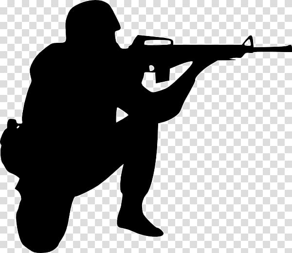 First World War United States Army Sniper School Soldier ... clip art black and white download