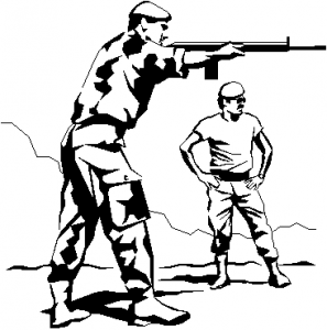 Soldiers line shooting clipart image free Target Shooting Clipart | Free download best Target Shooting ... image free