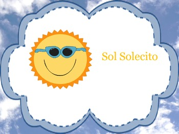 Solecito clipart banner black and white download Sol, Solecito - a Mi So La song banner black and white download