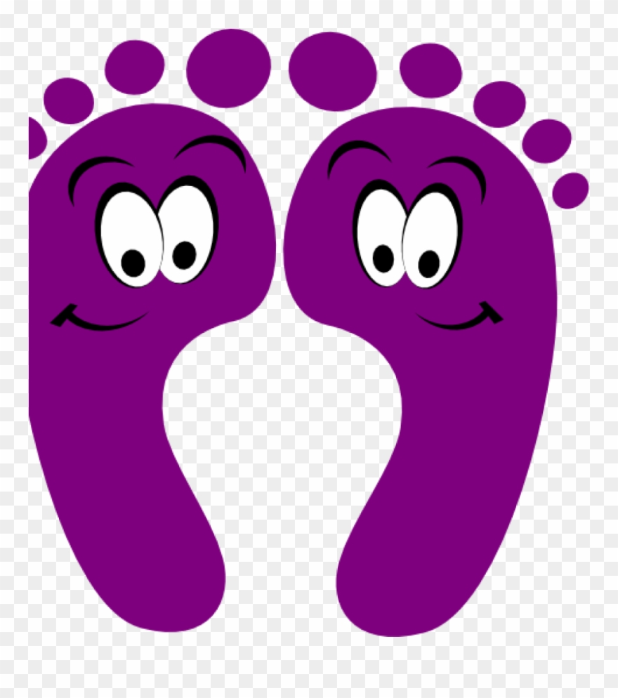 Soles clipart picture download Happy Feet Clipart Purple Clipart Purple Happy Feet ... picture download