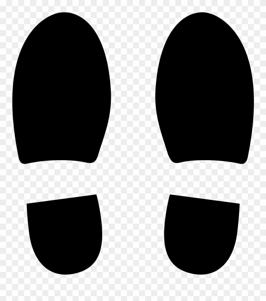 Soles clipart jpg black and white stock This Icon Represents Two Pictures Of The Soles Of Shoes ... jpg black and white stock