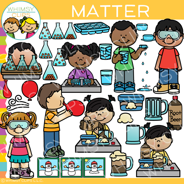 Science Matter Clip Art vector library stock