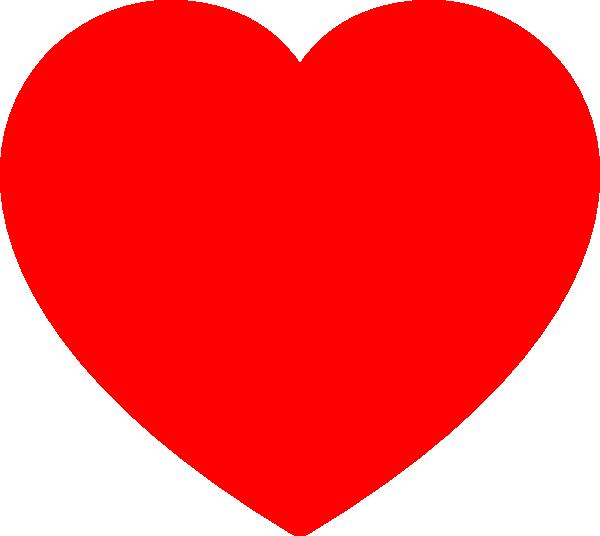 Solid heart clipart freeuse Solid Black Heart Clip Art at Clker.com - vector clip art online ... freeuse