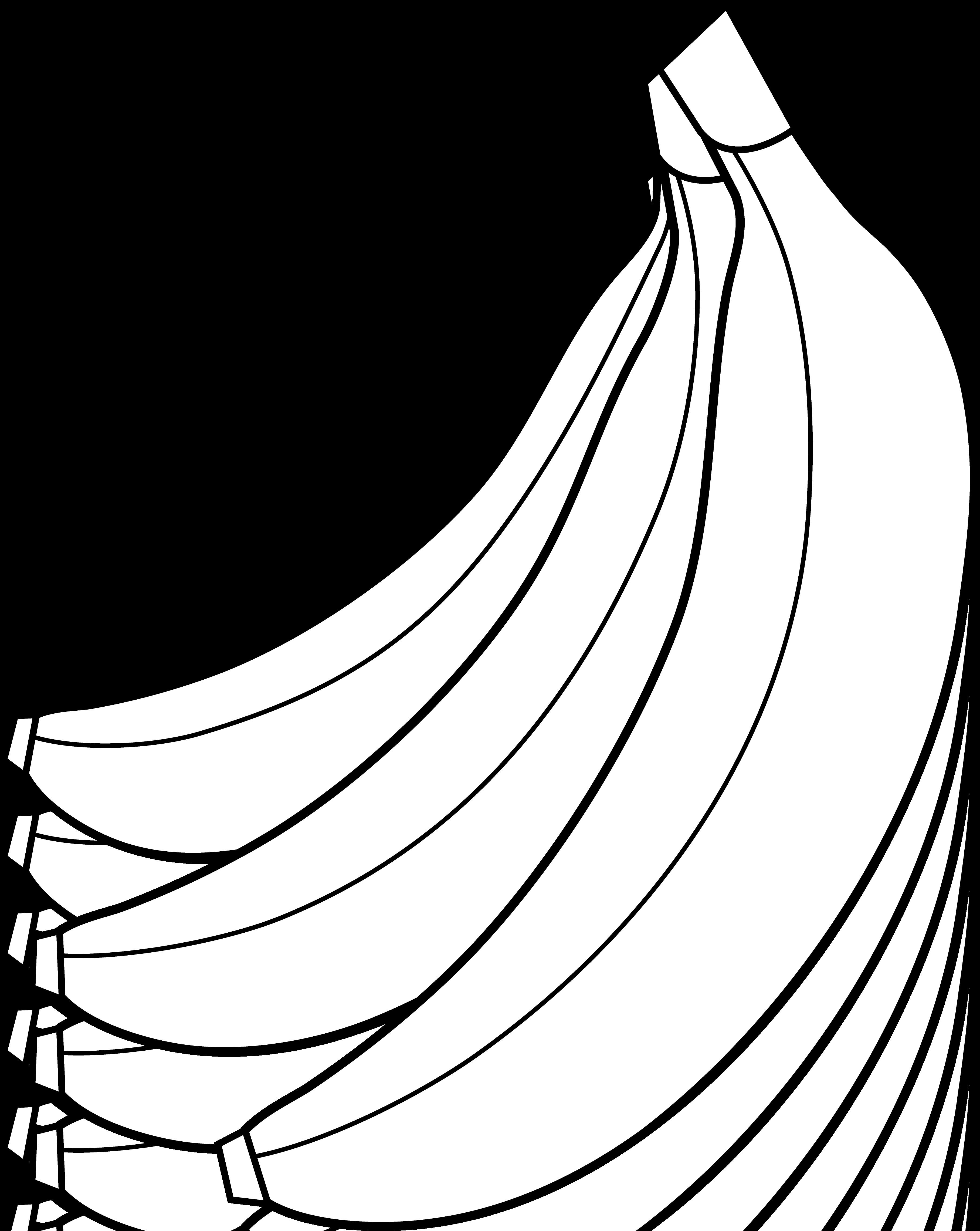 Solid black pumpkin clipart image freeuse stock Banana Clipart Black And White | Clipart Panda - Free Clipart Images image freeuse stock