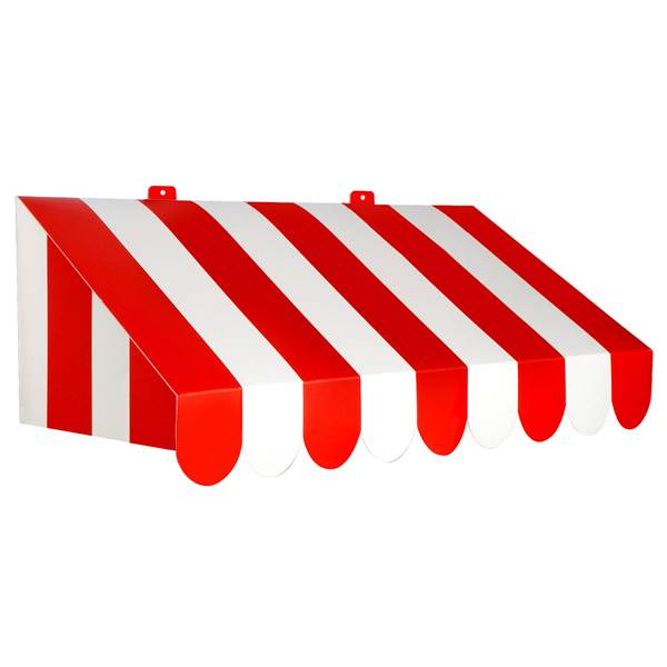 Solid color awning clipart image free stock Red and White Awning Wall Decoration image free stock