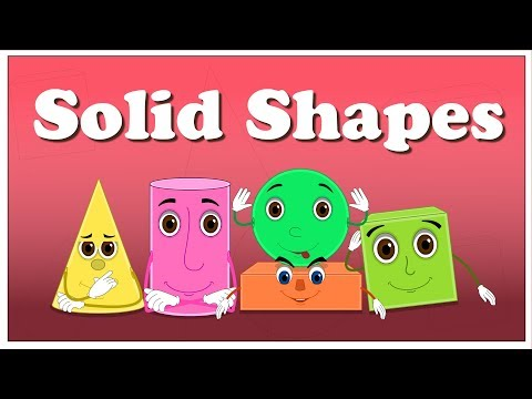 Solid figures clipart picture library library Solid Shapes for Kids | #aumsum - YouTube picture library library