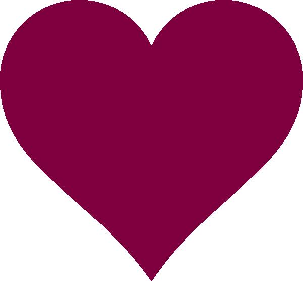 Solid heart clipart svg freeuse Solid Magenta Heart Clip Art at Clker.com - vector clip art online ... svg freeuse