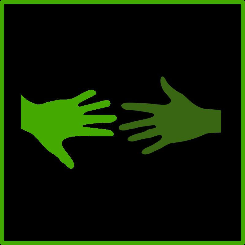 Solidariry clipart clip art download Free Clipart: Eco green solidarity icon | dominiquechappard clip art download
