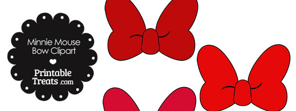 Solidbow clipart vector transparent Minnie Mouse Bow Clipart | Free download best Minnie Mouse ... vector transparent