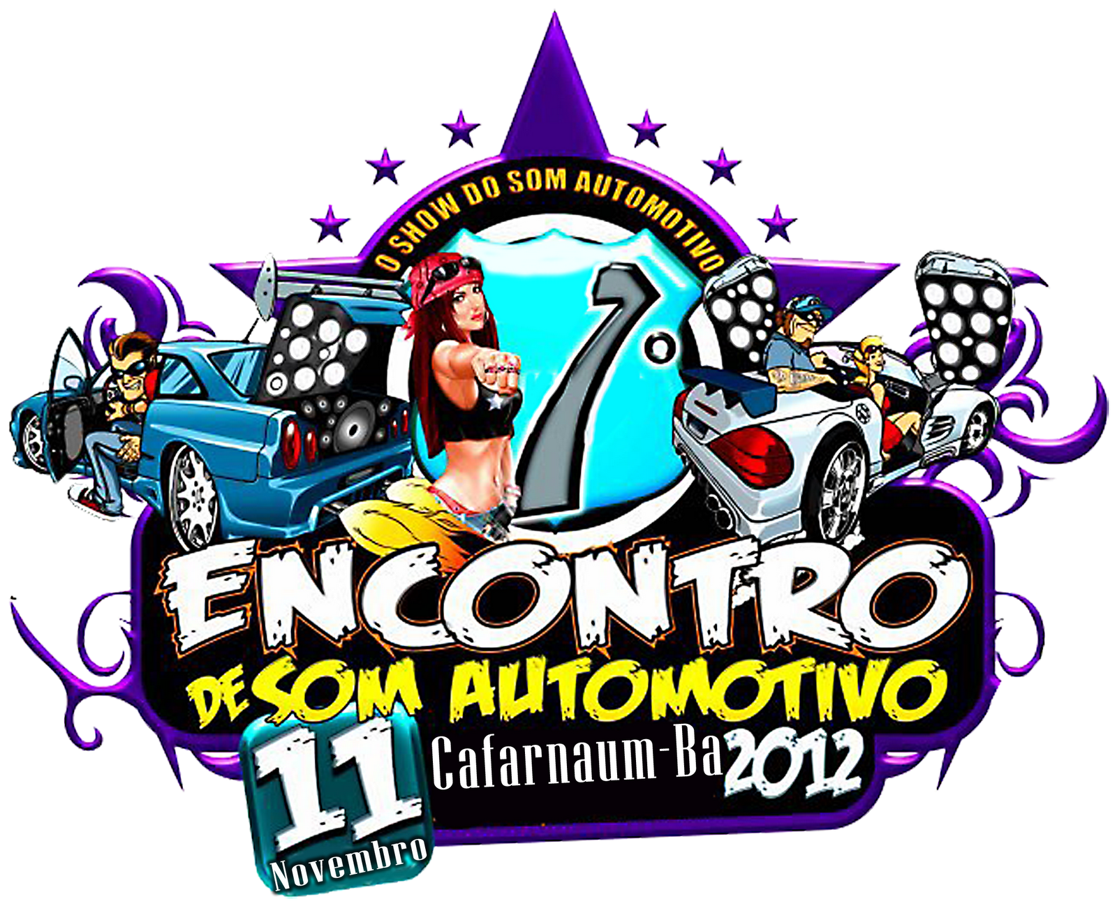 Som automotivo clipart svg royalty free 1º Encontro de som automotivo de Cafarnaum Ba | DJ GORDINHO CAF svg royalty free