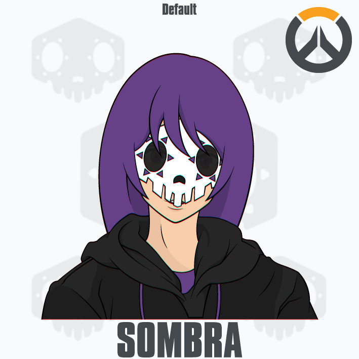 Sombra clipart overwatch clipart black and white stock Sombra clipart overwatch - ClipartFest clipart black and white stock