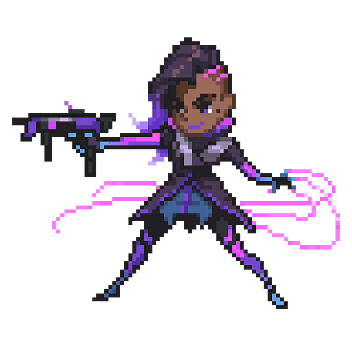 Sombra clipart overwatch clip transparent download 17 best images about sombra on Pinterest   Heroes, Character art ... clip transparent download