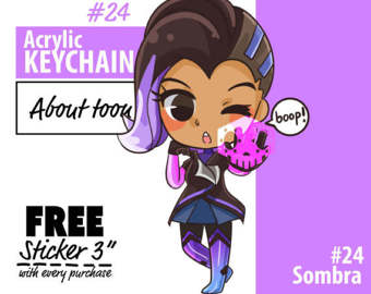 Sombra clipart overwatch picture download Overwatch sombra – Etsy UK picture download