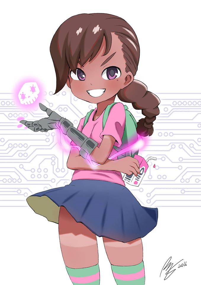Sombra clipart overwatch png Young Sombra   Overwatch   Know Your Meme png