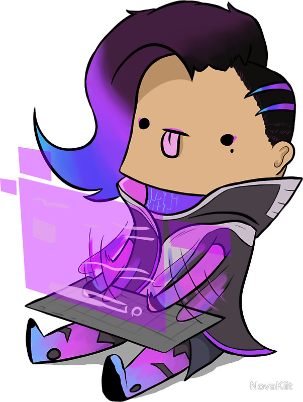 Sombra clipart overwatch clip art freeuse Sombra from Overwatch by Reverendtundra   Sombra doll   Pinterest ... clip art freeuse