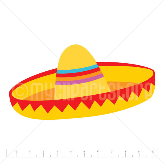 Sombrero hat clipart image royalty free download Sombrero Clipart Single, Viva Mexico, Cinco De Mayo, Mexican ... image royalty free download