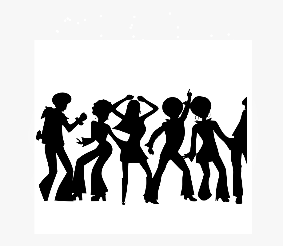 Someone dancing clipart vector library stock People Partying Clipart - Dancing Clipart #110217 - Free ... vector library stock