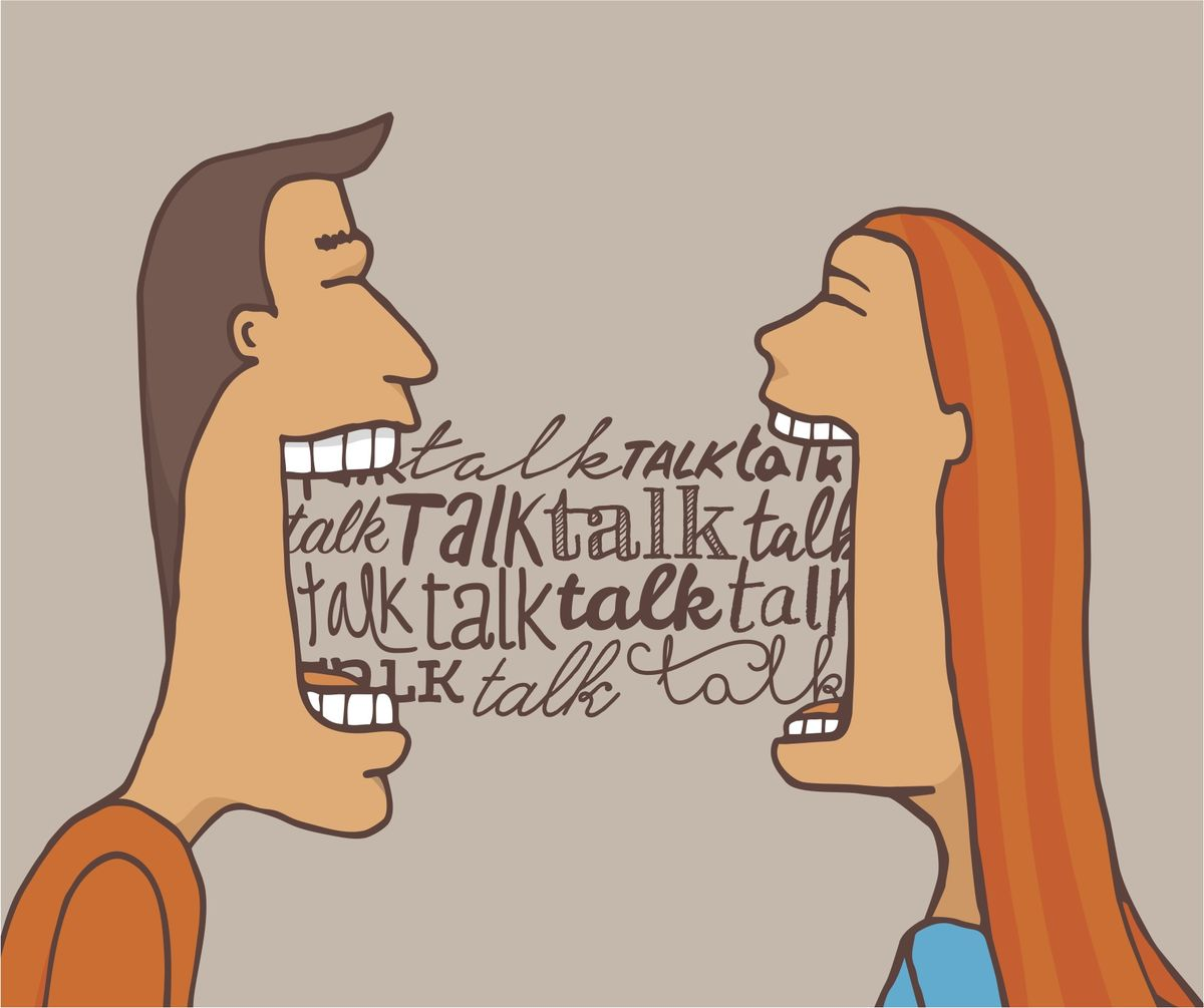 Someone listening to a private conversation clipart clip black and white stock A Simple and Powerful Technique for Better Listening ... clip black and white stock