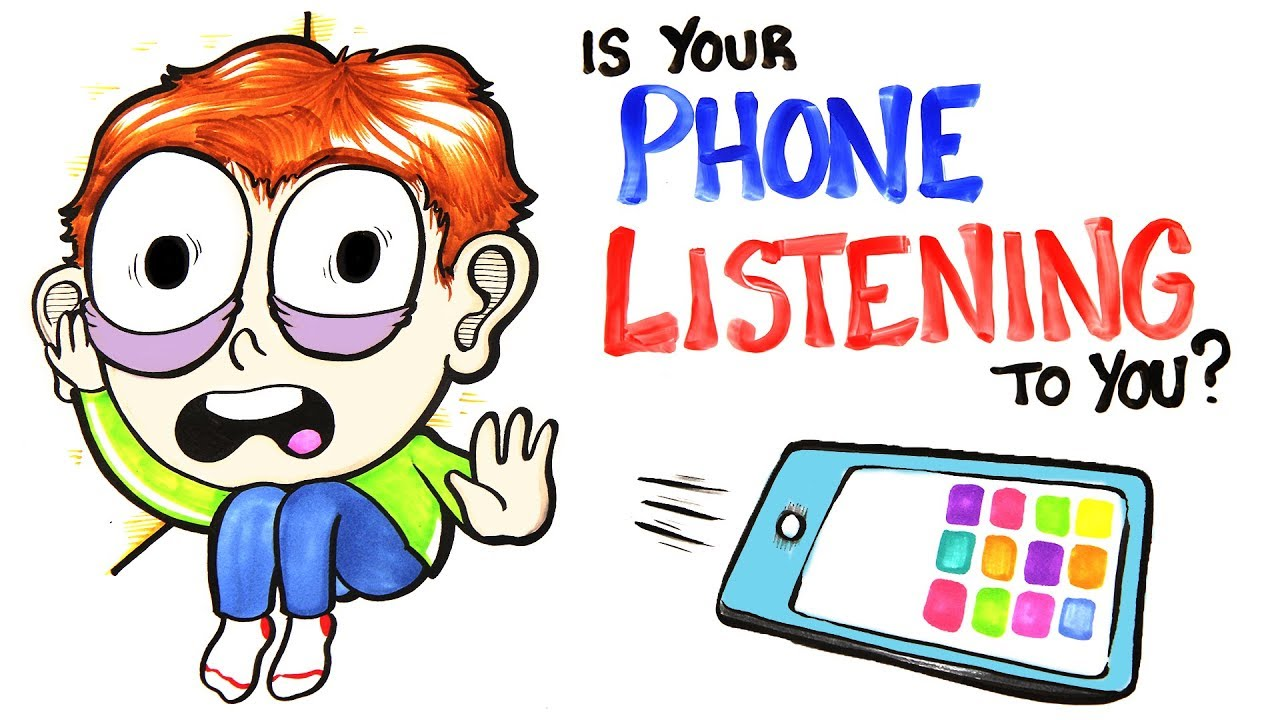 Someone listening to a private conversation clipart graphic freeuse Is Your Phone Listening To You? graphic freeuse