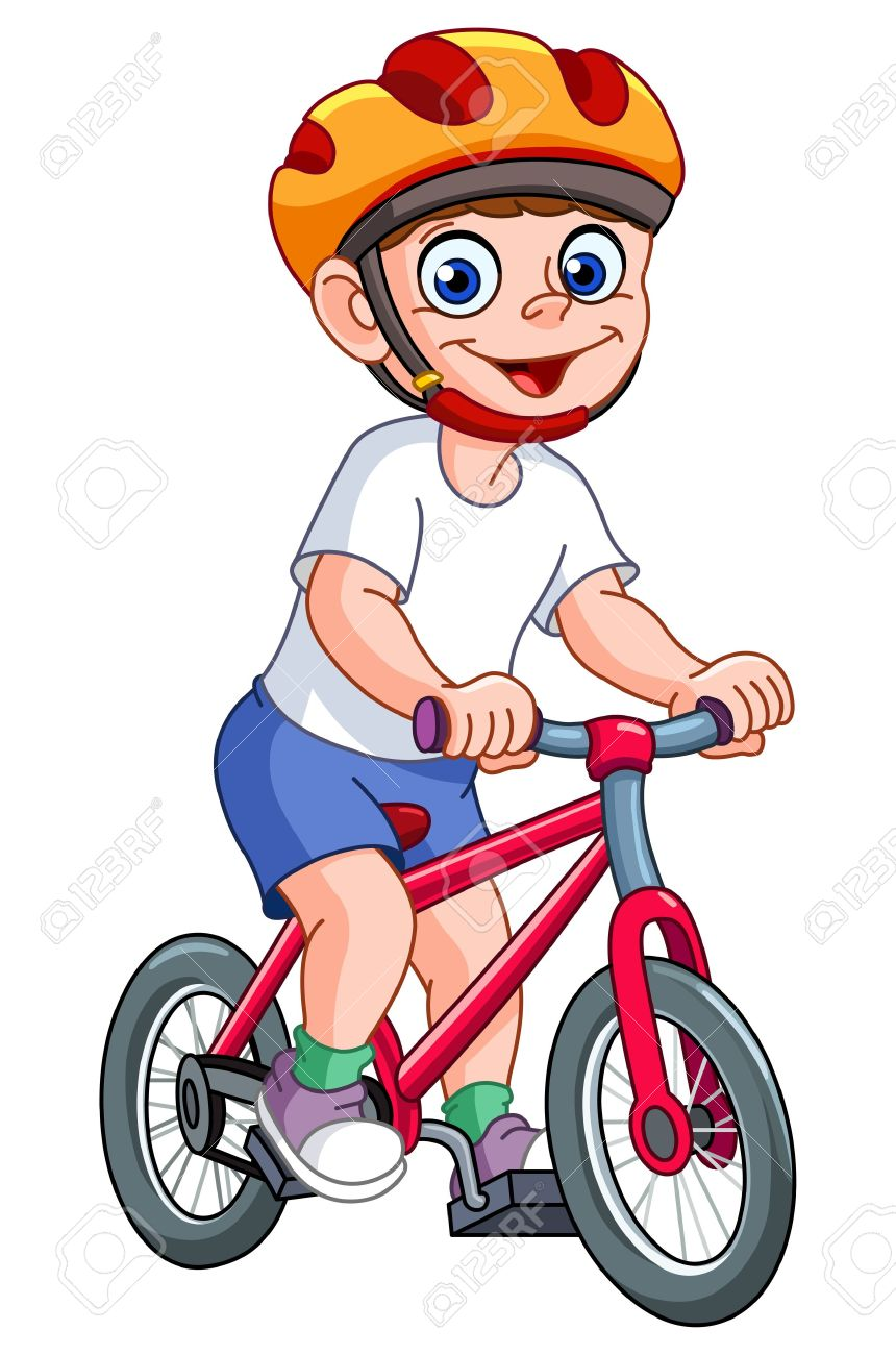 Someone on a bike with a baby clipart vector freeuse Kid Riding Bike Clipart | Free download best Kid Riding Bike ... vector freeuse