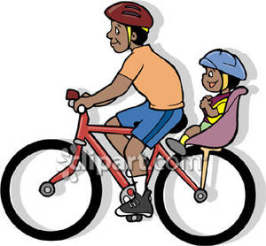 Someone on a bike with a baby clipart clipart free Boy Riding His Little Brother on a Bike - Royalty Free ... clipart free