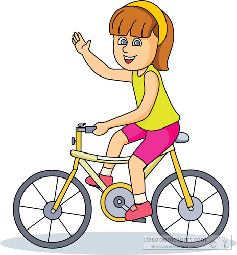 Someone on a bike with a baby clipart clipart free library Girl Riding Bike Clipart | Free download best Girl Riding ... clipart free library