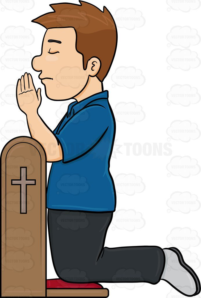 Someone praying clipart clipart black and white Clipart of someone praying 3 » Clipart Portal clipart black and white