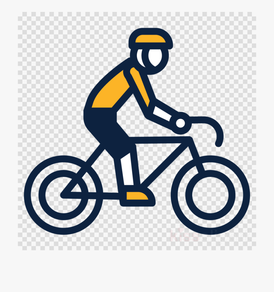 Ride bike clipart jpg library download Bicycle Cycling Transparent - Ride A Bike Transparent ... jpg library download