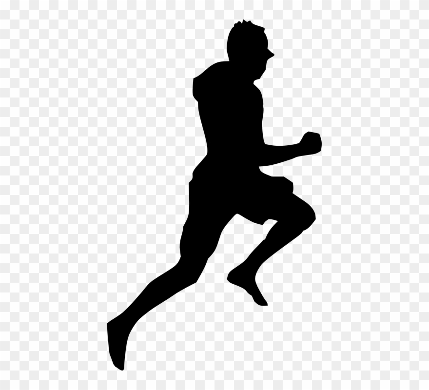 Someone running clipart picture freeuse stock Running Silhouette 23, Buy Clip Art - Someone Running ... picture freeuse stock