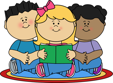 Kids working in groups clipart black and white download Group Reading Center | Paper | Reading groups, Reading ... black and white download