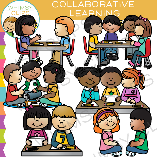 Kids working in groups clipart svg free Kids in groups clip art , Images & Illustrations | Whimsy ... svg free