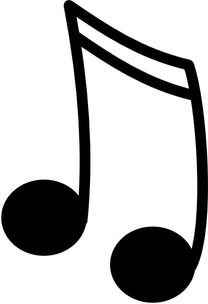 Song notes clipart jpg transparent library Single Musical Notes | Free download best Single Musical ... jpg transparent library