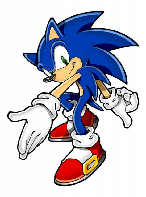 Sonic the hedgehog cliparts picture free library Sonic The Hedgehog Clipart & Look At Clip Art Images ... picture free library