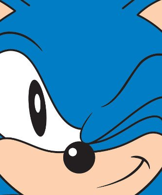 Sonic the hedgehog face clipart clip art free Sonic the Hedgehog Winking Face Sega Fleece Throw Blanket ... clip art free