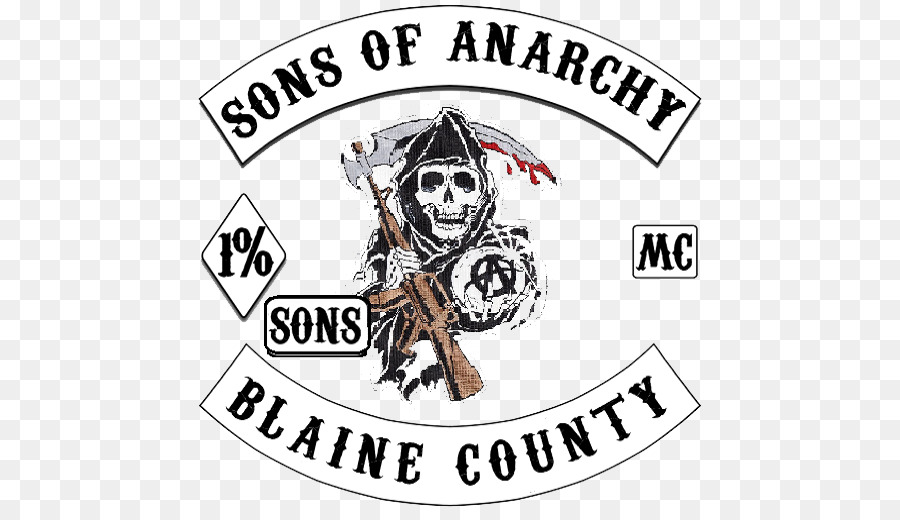 Sons of anarchy clipart black and white library Sons Of Anarchy Logo png download - 512*512 - Free ... black and white library
