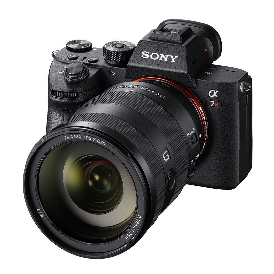 Sony a7 clipart image black and white stock Sony a7r III and two new lenses just announced image black and white stock