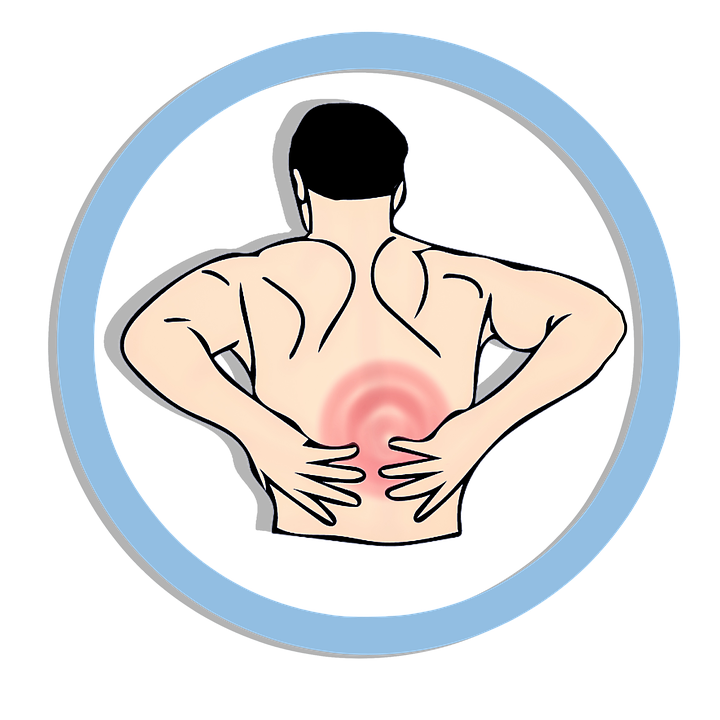 Sore back clipart clip art freeuse stock Quadratus Lumborum - Why it hurts and How to fix it ... clip art freeuse stock