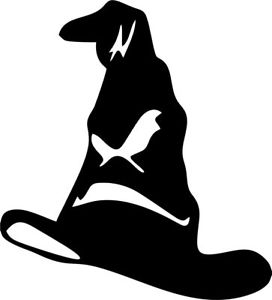 Sorting hat clipart clip art free Details about SORTING HAT HARRY POTTER VINYL DECAL STICKER  CAR/VAN/WALL/LAPTOP/TABLET/ART/GIFT clip art free