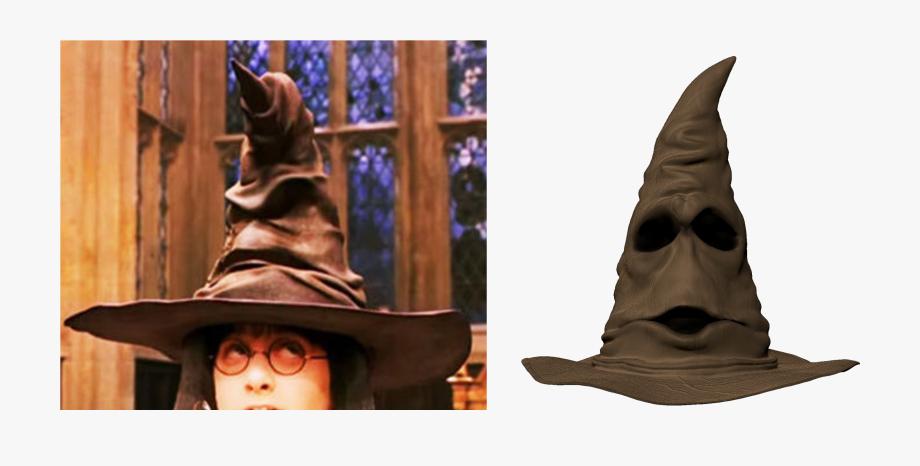 Sorting hat clipart harry potter png clip art freeuse Harry Potter In The Sorting Hat - Harry Potter With Hat ... clip art freeuse