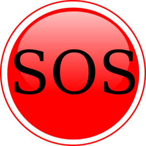 Sos clipart free png stock Glossy Sos Circle Button Clip Art at Clker.com - vector clip ... png stock