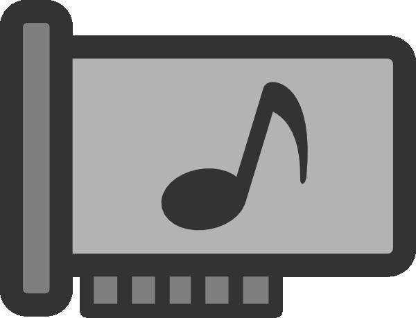 Sound card clipart png transparent library Sound Card Clip Art at Clker.com - vector clip art online ... png transparent library