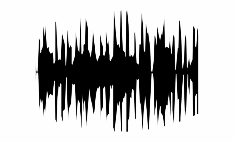 Sound wave clipart png transparent library Sound Wave Clipart Music Beat - Sound Waves Black And White ... png transparent library