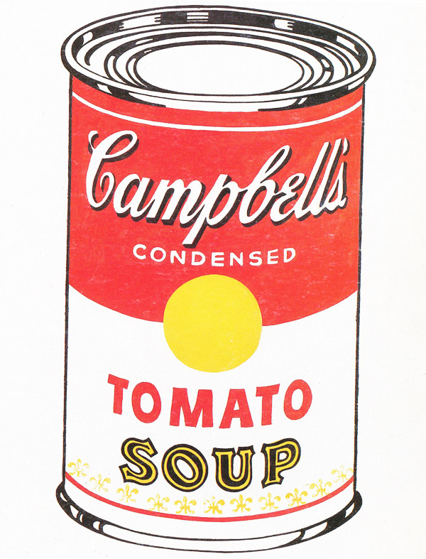 Soup can clipart clipart free library Campbell S Soup Can Coloring Page - Clip Art Library clipart free library