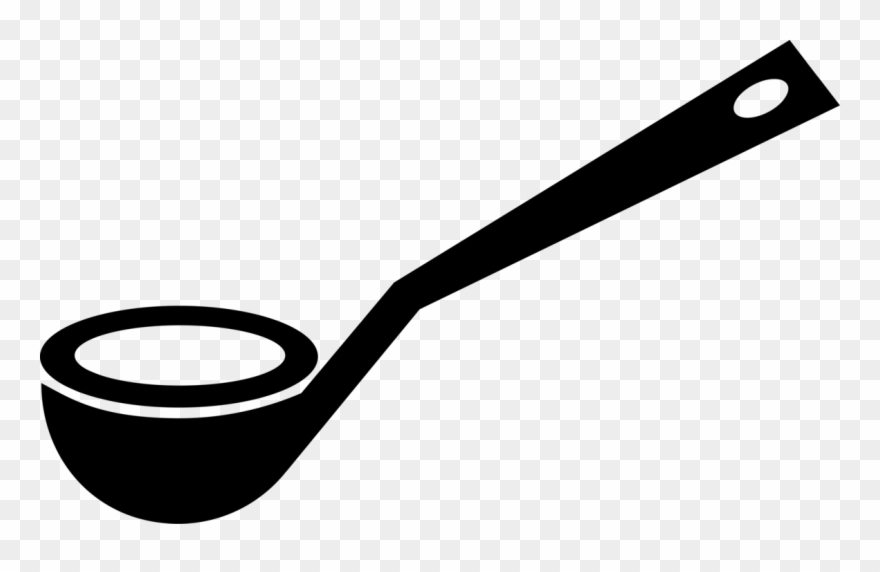 Soup dipper clipart clip royalty free library Kitchen Soup Ladle Spoon - Suppenkelle Clipart - Png ... clip royalty free library